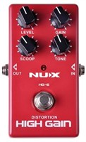 Педаль High Gain NUX HG-6