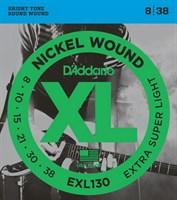 Струны для электрогитары D`Addario EXL130
