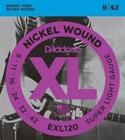 Струны для электрогитары D`Addario EXL120