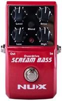 Педаль перегруза для бас-гитары NUX Scream-Bass