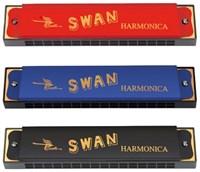 Губная гармошка тремоло Swan SW16-1
