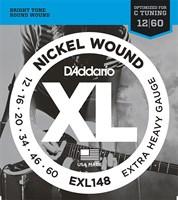 Струны для электрогитары D`Addario EXL148 XL