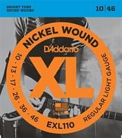 Струны для электрогитары D`Addario EXL110 XL