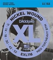 Струны для электрогитары D`Addario EXL116 XL