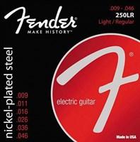 Струны для электрогитары FENDER STRINGS NEW SUPER 250LR NPS BALL END 9-46