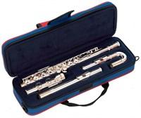 Посеребренная флейта с изогнутой и прямой головками John Packer JP011CH