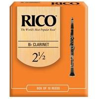 Трости для кларнета Rico RCA1025, размер 2.5, 10шт.
