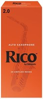 Трости для саксофона альт Rico RJA1020, размер 2.0, 10шт.