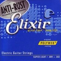 Струны для электрогитары Elixir 12000 POLYWEB