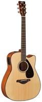 Электро-акустическая гитара Yamaha FGX800C (N)