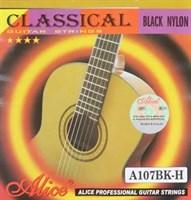 Черные нейлоновые струны Alice AC107BK-H