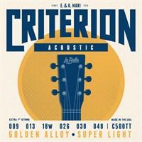 Струны для акустической гитары La Bella C500TT Criterion